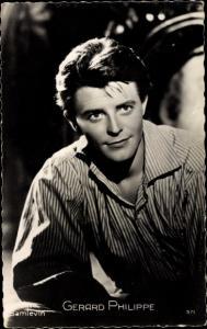 Ak Schauspieler Gerard Philippe