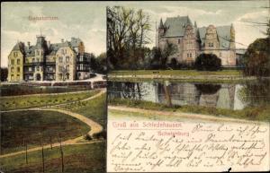 Ak Schledehausen Bissendorf in Niedersachsen, Sanatorium, Schelenburg