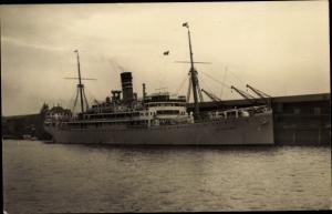 Ak Dampfschiff Usaramo, Deutsche Ost Afrika Linie, DOAL