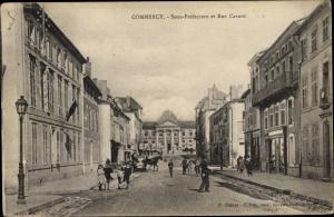 Ak Commercy Lothringen Meuse, Sous Prefecture et Rue Carnot