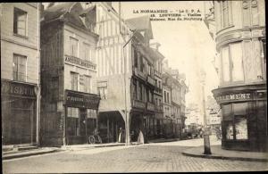 Ak Louviers Eure, Rue du Neubourg