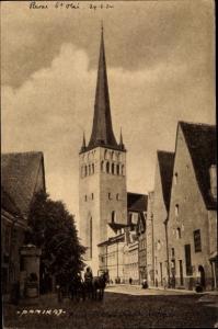 Ak Tallinn Reval Estland, St. Olaikirche
