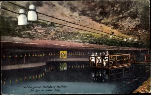 Ak Dürnberg Hallein in Salzburg, Salzbergwerk