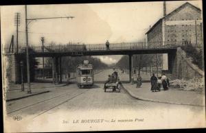 Ak Le Bourget Seine Saint Denis, Le nouveau Pont