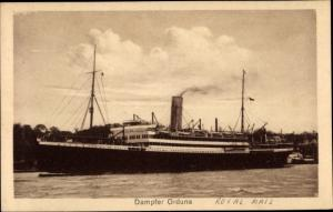 Ak Dampfer Orduna, Pacific Steam Navigation Company