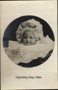Ak Erbgroßherzog Georg von Hessen, Kinderportrait