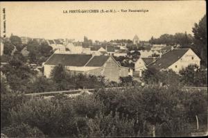 Ak La Ferté Gaucher Seine et Marne, vue panoramique
