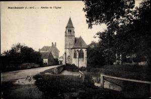 Ak Marchenoir Loir et Cher, Abside de l'Eglise