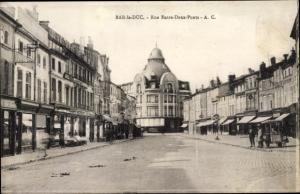 Ak Bar Le Duc Lothringen Meuse, Rue Entre Deux Ponts