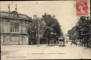 Ak Saint Denis Seine Saint Denis, Les Ecoles Chateaudun