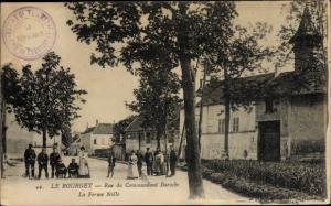 Ak Le Bourget Seine Saint Denis, Rue du Commandant Baroche