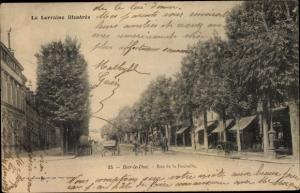 Ak Bar Le Duc Lothringen Meuse, Rue de la Rochelle