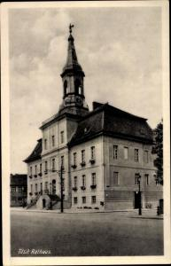 Ak Sowjetsk Tilsit Ostpreußen, Rathaus