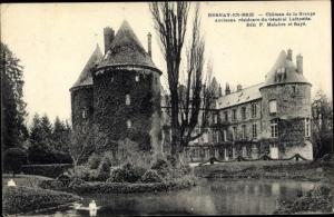 Ak Bernay-en-Brie Seine et Marne, Chateau de la Grange, ancienne residence du General Lafayette