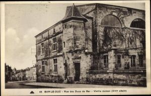 Ak Bar Le Duc Lothringen Meuse, Rue des Ducs de Bar, Vieille maison