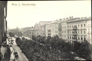 Ak Wien 1 Innere Stadt Österreich, Kärntner Ring