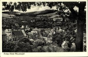 Ak Bad Münstereifel in Nordrhein Westfalen,Gesamtansicht