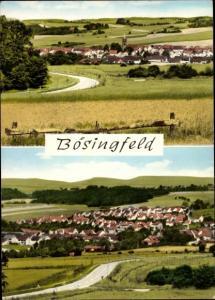 Ak Bösingfeld Extertal in Nordrhein Westfalen, Gesamtansicht