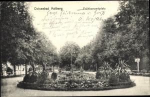 Ak Kołobrzeg Kolberg Pommern, Frühkonzertplatz