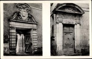 Ak Selles sur Cher Loir et Cher, Portes des Pavillons Dores