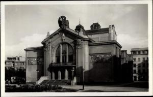 Ak Pardubice Pardubitz Stadt, Mestske divadlo