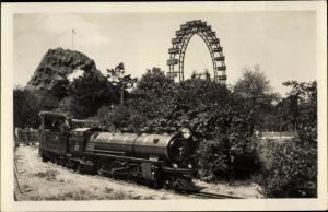 Ak Wien 2 Leopoldstadt Österreich, Prater, Liliputbahn