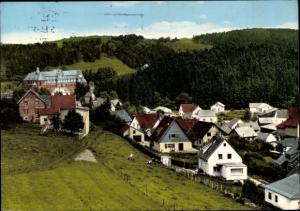 Ak  Nettersheim Eifel Nordrhein Westfalen, Wohnhäuser
