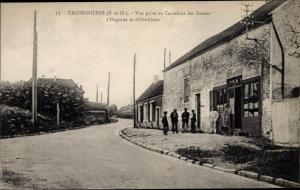 Ak Tacoignieres Yvelines, Vue prise au Carrefour des Routes d'Orgerus et d'Orvilliers