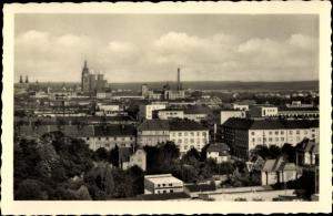 Ak Hradec Králové Königgrätz Stadt, Panorama