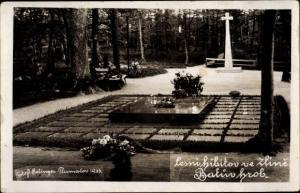 Ak Zlin Zlínský kraj Mähren Tschechien, Friedhof