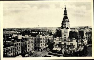 Ak Opava Troppau Region Mährisch Schlesien, Totale