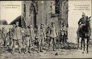 Ak Chauconin-Neufmontiers Seine et Marne, Prisonniers Allemands de la Croix Rouge
