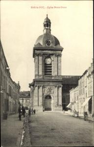 Ak Bar Le Duc Lothringen Meuse, Eglise Notre Dame