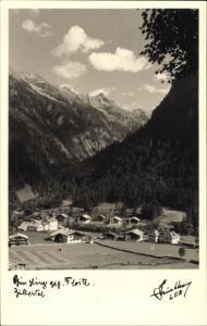 Ak Ginzling in Tirol, Zillertal gegen Floite