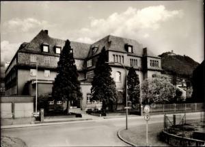 Ak Königswinter am Rhein, Adam Stegerwald Haus, Stadtansicht, Straßenpartie