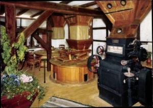 Ak Nümbrecht im Oberbergischen Kreis, Historische Holsteinsmühle