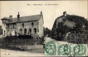 Ak Vailly sur Sauldre Cher, Le Vieux Chateau