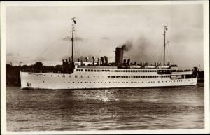 Ak Dampfer MS Hansestadt Danzig, Norddeutscher Lloyd Bremen