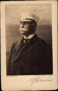 Künstler Ak Emerich, Erw., Ferdinand Graf von Zeppelin, gedruckte Unterschrift