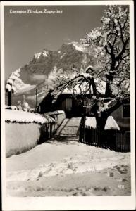 Ak Lermoos in Tirol, Zugspitze