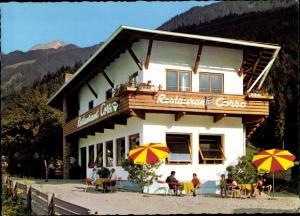 Ak Mayrhofen im Zillertal Tirol, Restaurant Corso