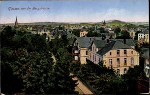 Ak Gießen an der Lahn Hessen, Gießen von der Bergstraße