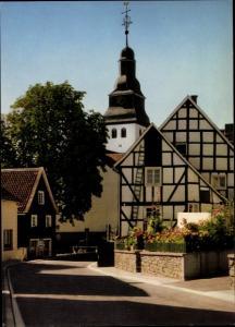 Ak Nümbrecht im Oberbergischen Kreis, Alte Poststraße