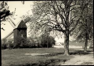 Ak Werder an der Havel, Windmühle