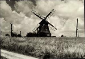 Ak Dabel Mecklenburg Vorpommern, Windmühle