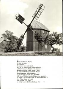Ak Kottmarsdorf Kottmar in der Oberlausitz, Windmühle