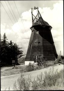 Ak Vitte Hiddensee Ostsee, Windmühle