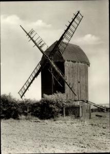 Ak Holzhausen Leipzig in Sachsen, Windmühle