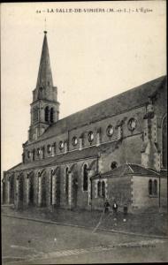 Ak La Salle de Vihiers Maine et Loire, L'Eglise