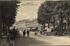 Ak Bar Le Duc Meuse, Boulevard de la Rochelle, Kutsche